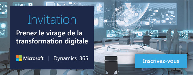 Invitation - Prenez le virage de la transformation digitale