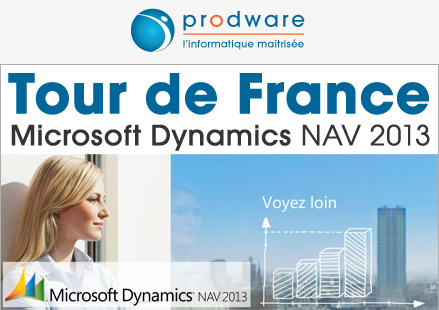 Tour de France Prodware : Microsoft Dynamics NAV 2013