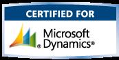 Certified Fot Microsoft Dynamics